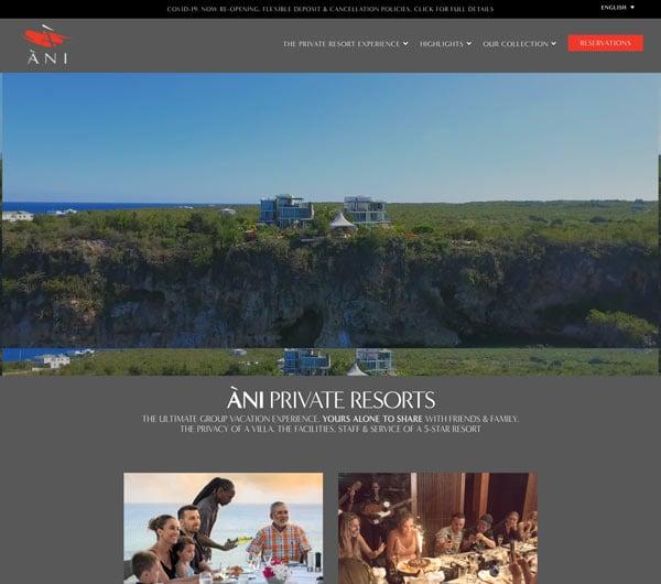 Ani Private Resort Slide