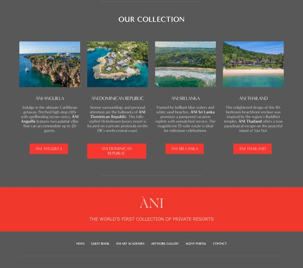 Ani Private Resorts Slide